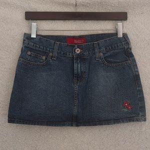 Hollister Jean Mini Skirt Sz S